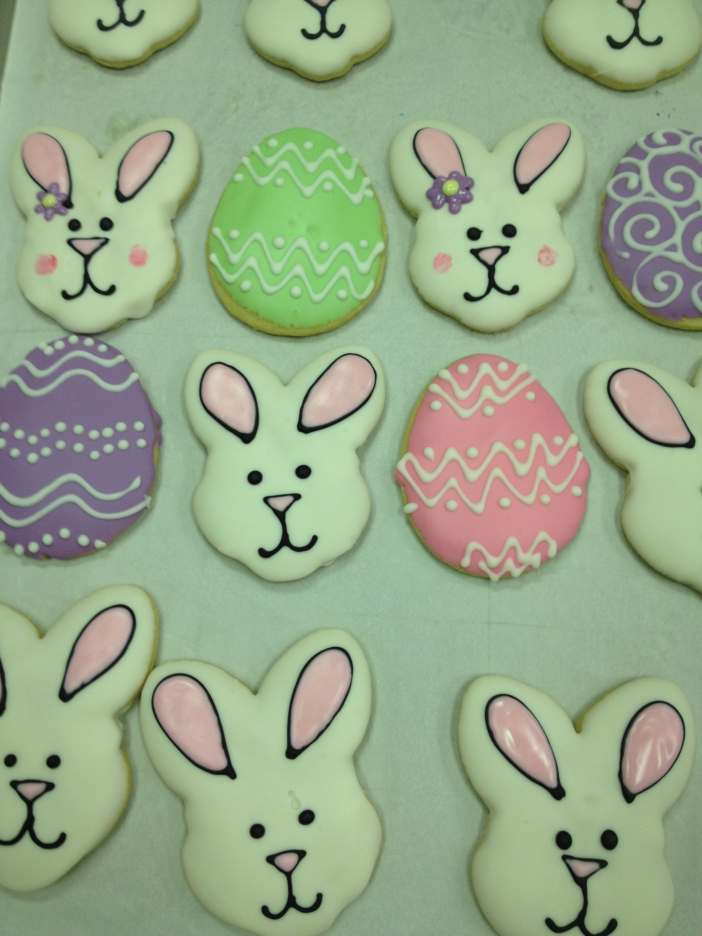 Society Bakery Easter Bunnies and Egg Sugar Cookies