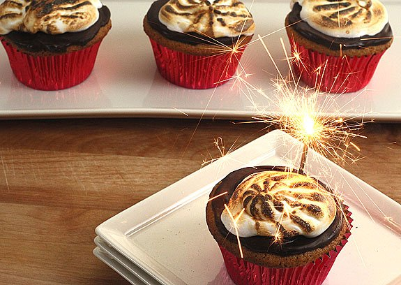 Society Bakery S'Mores Cupcakes